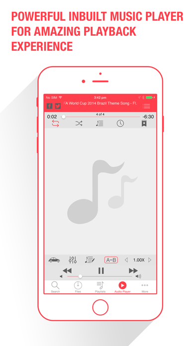 download Music Dropper - Free Music Player for Cloud Drives apps 2