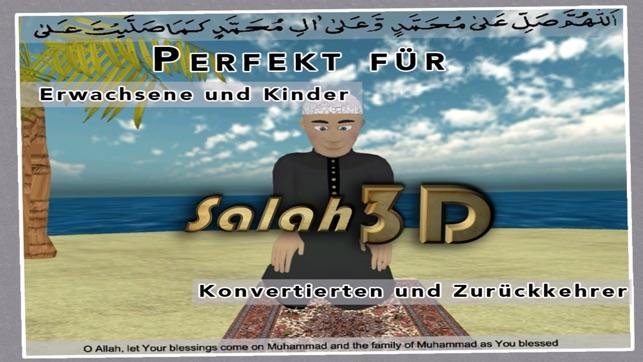 salah 3d islam islamische apps serie aus quran koran hadith von prophet mohammed und. Black Bedroom Furniture Sets. Home Design Ideas