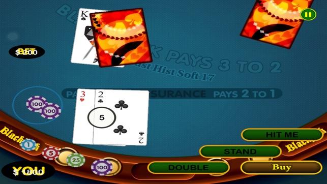 Blackjack double down casino tableau valeur des mains au poker