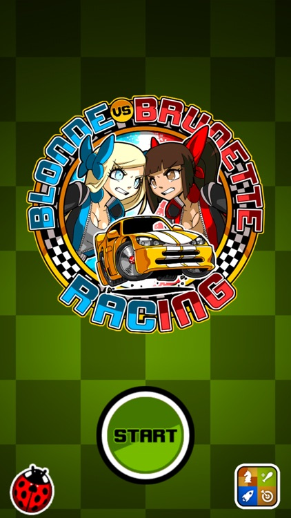 Blonde vs Brunette Racing - Two-player kart racing fun! screenshot-4