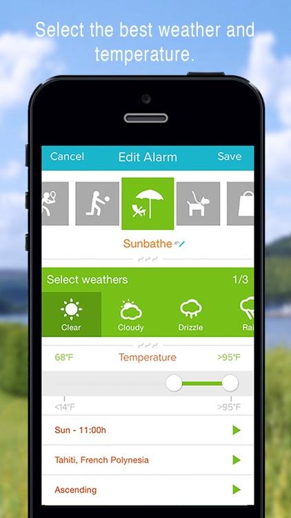 WakeApp Weather - Alarm clock