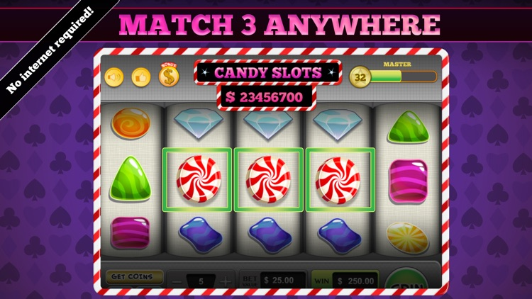 777 Candy Slots Casino screenshot-0