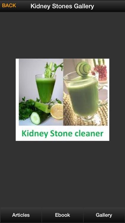 Kidney Stones Guide - How To Prevent & Treat Kidney Stones Symptoms screenshot-3
