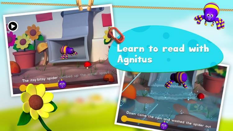 Itsy Bitsy Spider: 3D Interactive Story Book For Children in Preschool to Kindergarten HD screenshot-4