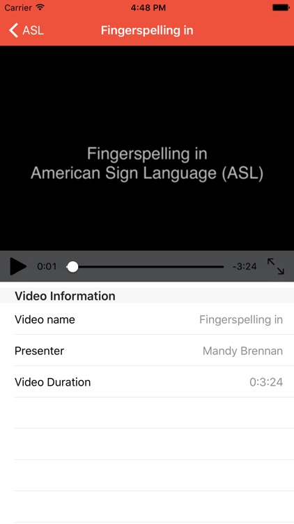 Fingerspelling in American Sign Language (ASL) for beginners and elementary improvers