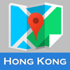 Hong Kong offline map and gps city 2go by Beetle Maps, china hongkong street travel guide walks, airport transport underground Hong Kong metro MTR tube subway lonely planet Hong Kong trip advisor