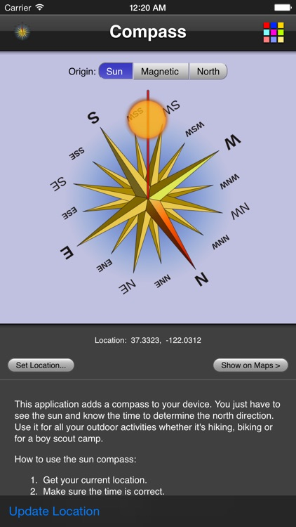 Compass screenshot-2