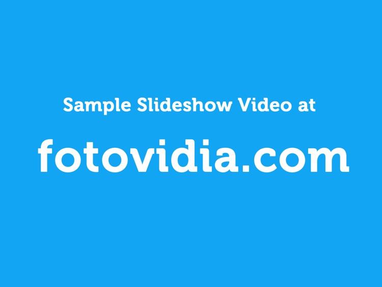 fotovidia hd: slideshow video maker from photos and music screenshot-4