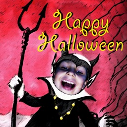 Halloween Booth 2014: Create scary and fun personalized cards and pictures in no time