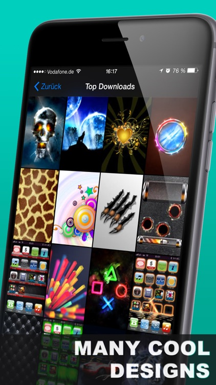 Deluxe Home Screens & Backgrounds screenshot-4