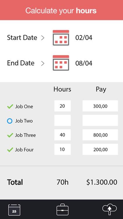 WorkTime - Work Schedule, Shift Calendar & Job Manager screenshot-3