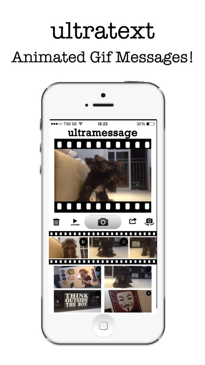 UltraMessage - Create Gif Animated Messages