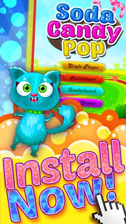 `` A Soda Candy Pop`` - Match 3 Bubble Shooter For Panda Kids FREE screenshot-4