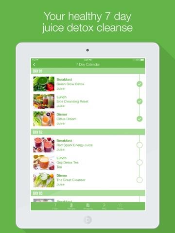 7 Day Juice Detox Cleanse   App Price Drops
