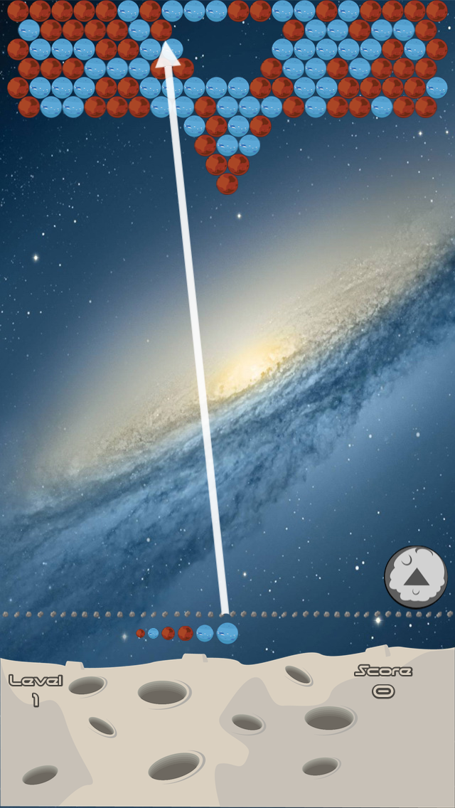 Bubbles planets screenshot four