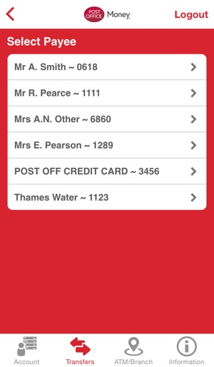 Post office money current account on the app store - Can i check my post office account online ...
