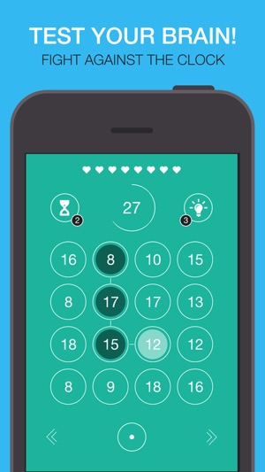 8 SUM 8 - Free math solver games ! Practice addition and subtraction ...