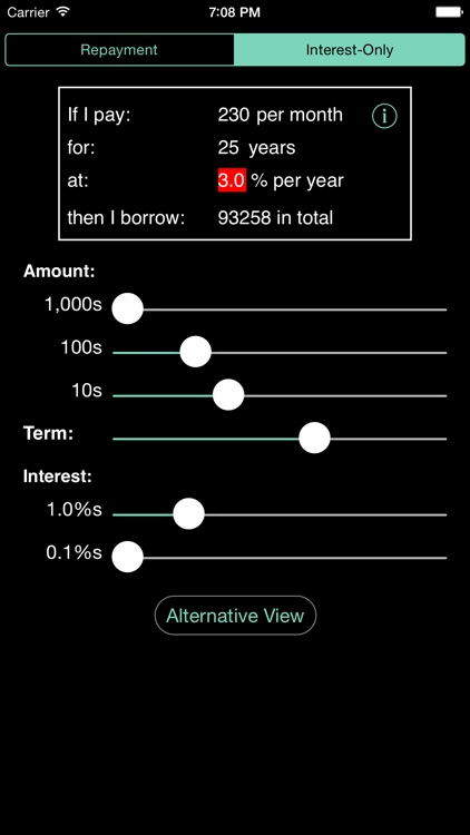 Mortgage Calculator from Andrew's Toolkit