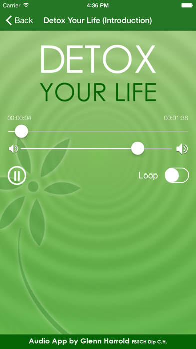 Detox Your Life By Glenn Harrold review screenshots