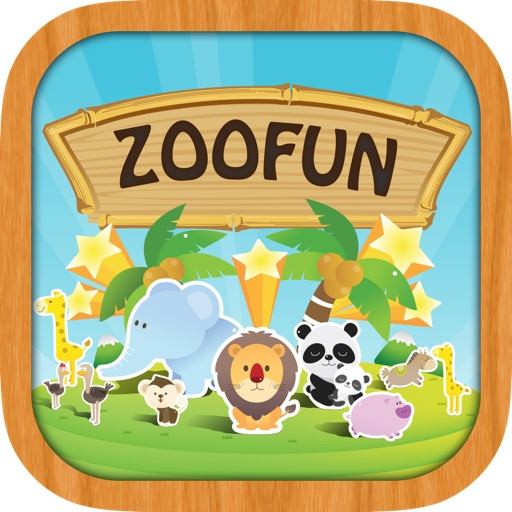 ZooFun Free - Animal Sounds and Matching Game for Kids