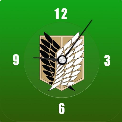 AoT Clock for Attack on Titan