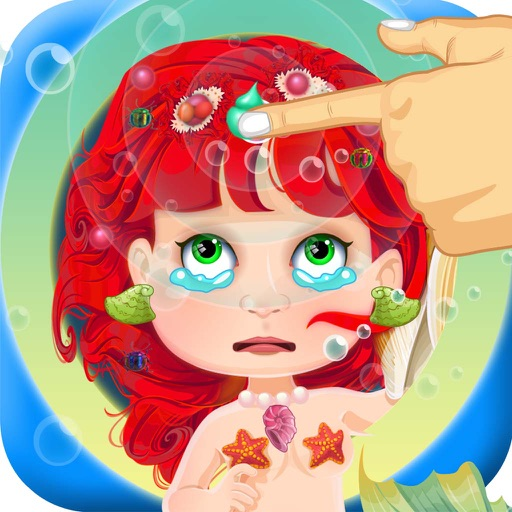 Little Mermaid Hair Salon Doctor - my baby prom make-over & spa games for girl kids