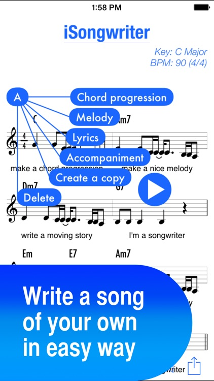iSongwriter - You can create a song, too!