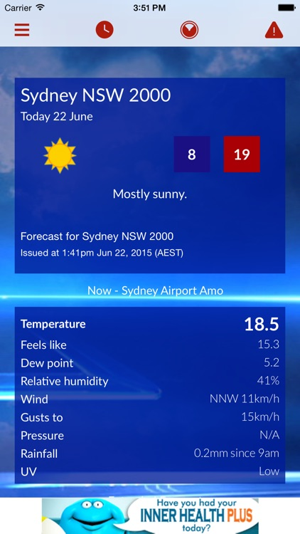 Sky News Weather by Australian News Channel Pty Ltd