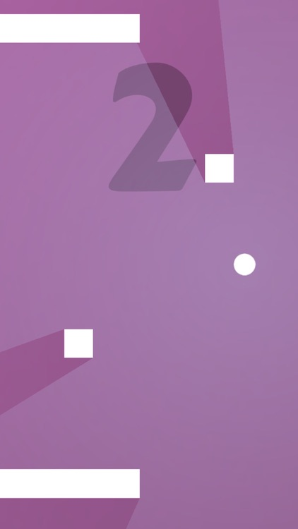 Amazing Ball - Tap to bounce the dot and don't touch the white tile