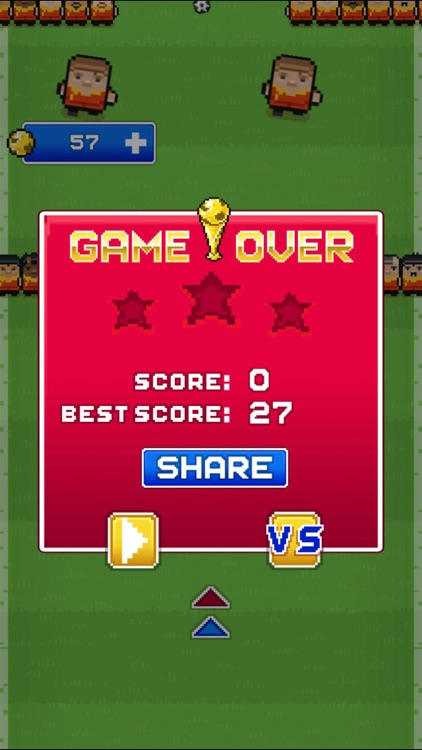 Big football superstar (Impossible Challenge Blocky Racing Pixel Soccer Games) screenshot-4