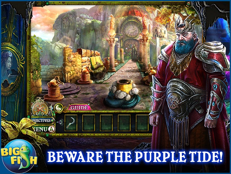 Dark Parables: The Little Mermaid and the Purple Tide HD - A Magical Hidden Objects Game (Full) screenshot-0