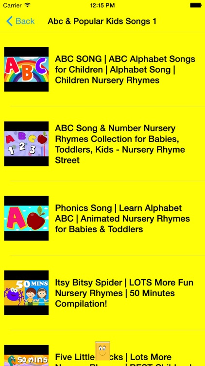 ABC 123 Nursery Rhymes and Songs screenshot-2