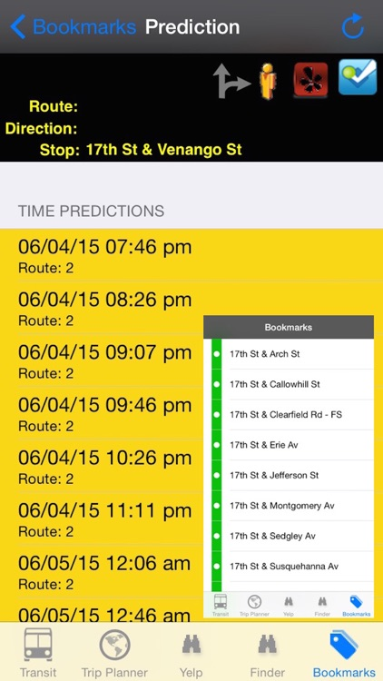 My Next Bus SEPTA Edition Pro  - Public Transportation Directions and Trip Planner screenshot-3