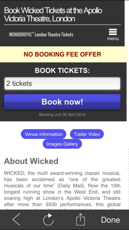 London West End Theatreland Theatre Ticket Travel Guide Plus by Wonderiffic™ screenshot-4