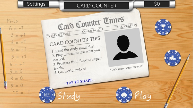 Card Counter
