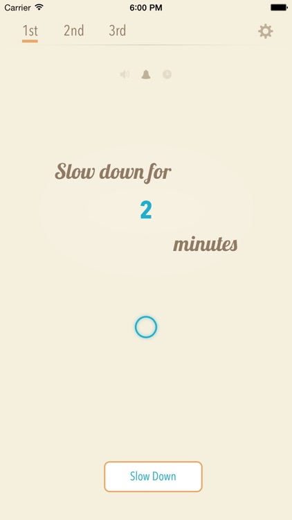 Slow Down ~ Meditation