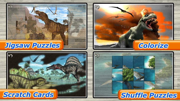 Dinosaur Puzzle - Amazing Dinosaurs Puzzles Games for kids