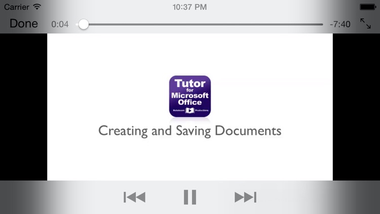 Tutor for Microsoft Office for iPad - Learn Excel, Word, and Powerpoint for iPad screenshot-2