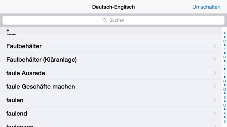 Deutsch-Englisch? OK! screenshot-3