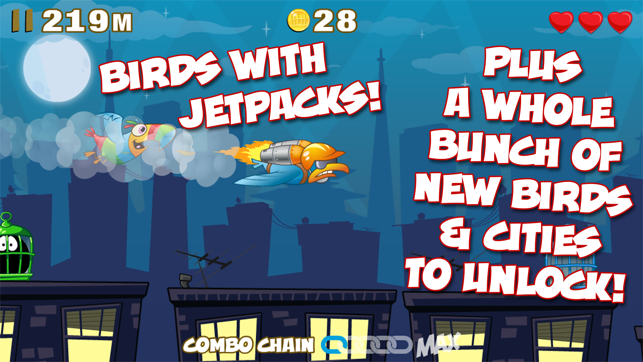 ‎City Birds - Birdcage Blowout! Screenshot