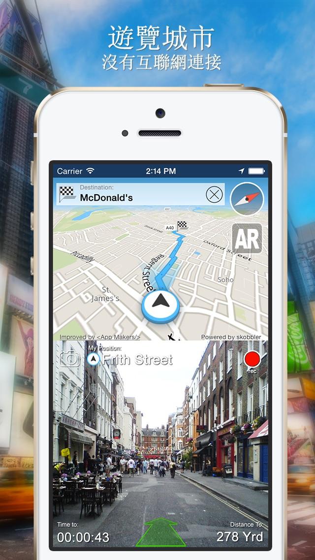 曼谷離線地圖+城市指南導航,景點和交通工具屏幕截圖1