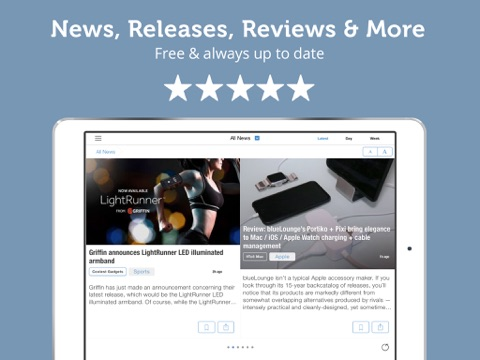 Gadget News - Reviews, Videos and Rumors for Gadgets Lovers - Newsfusion screenshot