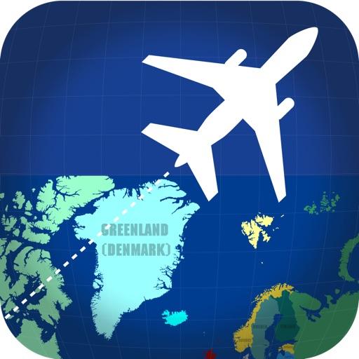 Flyover - летит вокруг всего мира