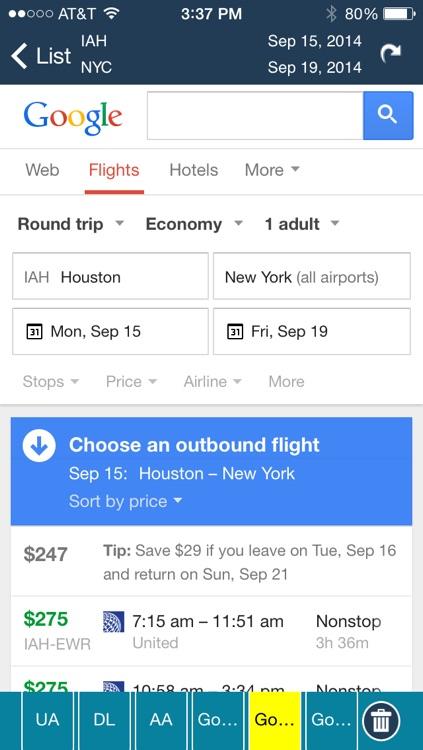 Houston Intercontinental Airport Flight Tracker HOU screenshot-4