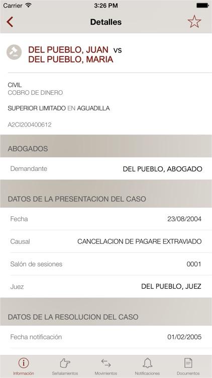 La Rama Judicial de Puerto Rico screenshot-3