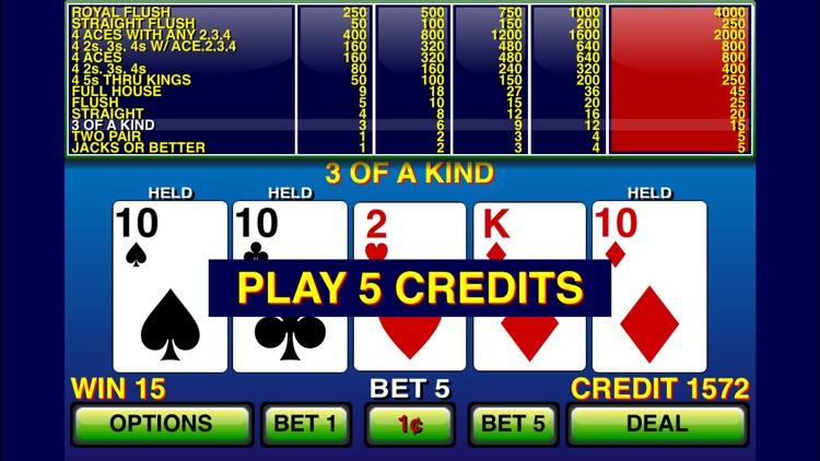 Video Poker ⋆