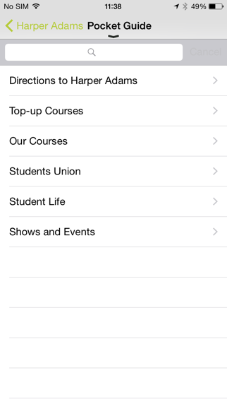 Go: Harper Adams University College screenshot three