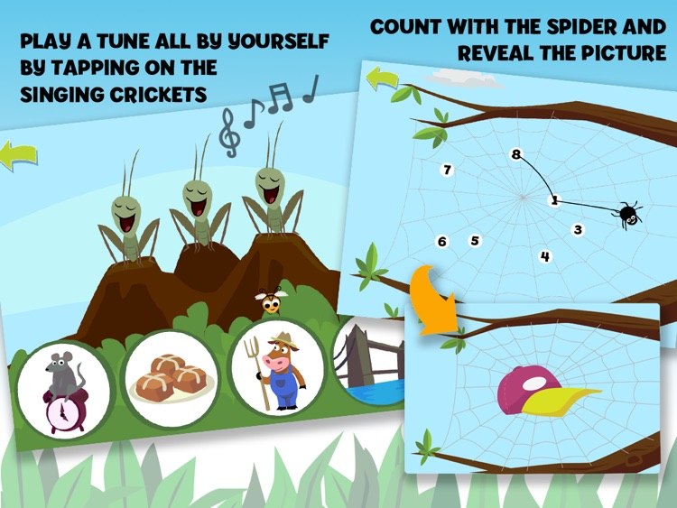 Brainy Bugs' Preschool Games for iPad