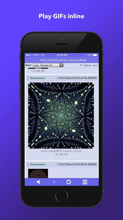 Merlin WebM Player & Browser for iPhone screenshot-4