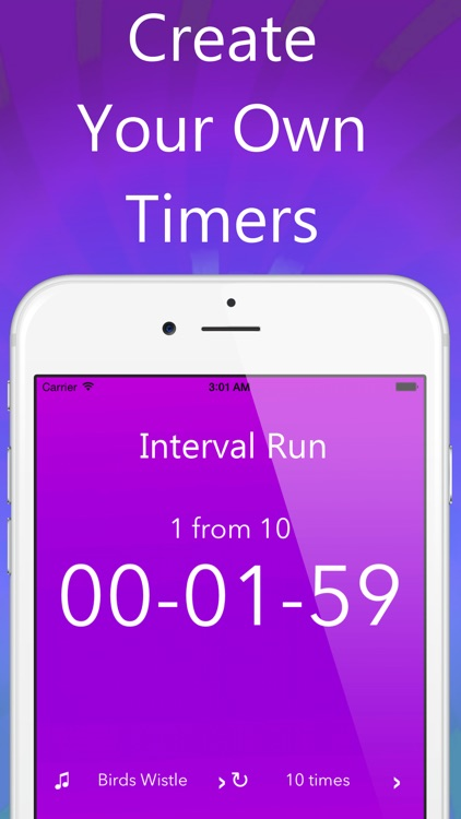 Timer with Large Digits for Boiling Eggs, Interval Training, Running and Snooze